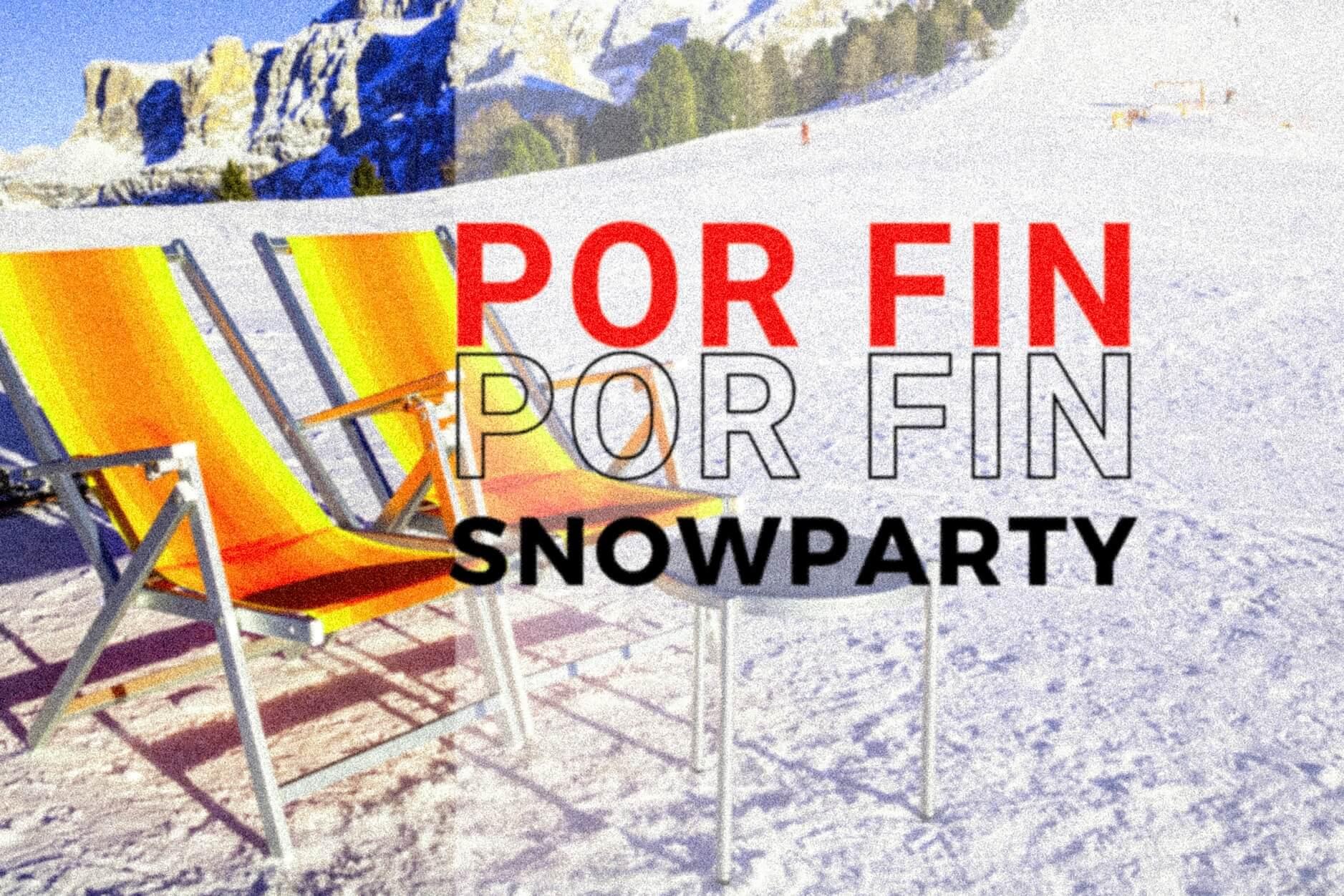 1ª SNOWPARTY '22 GRANDVALIRA