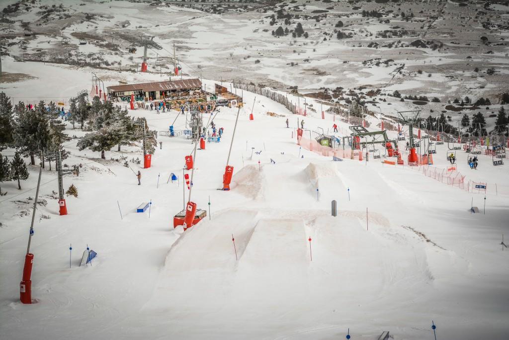 Fiesta Jamon Freestyle en Valdelinares