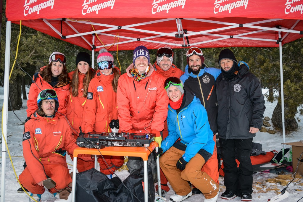 Esquiar en la competi Jamón Freestyle Valdelinares